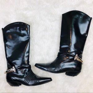 ➖Via Spiga➖ harness riding boots